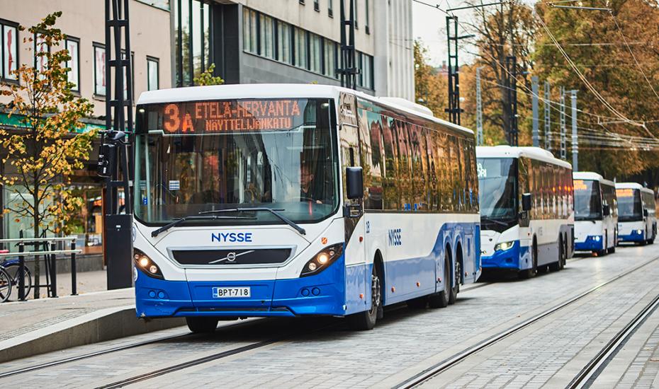 Lähimaksu busseissa ja ratikoissa