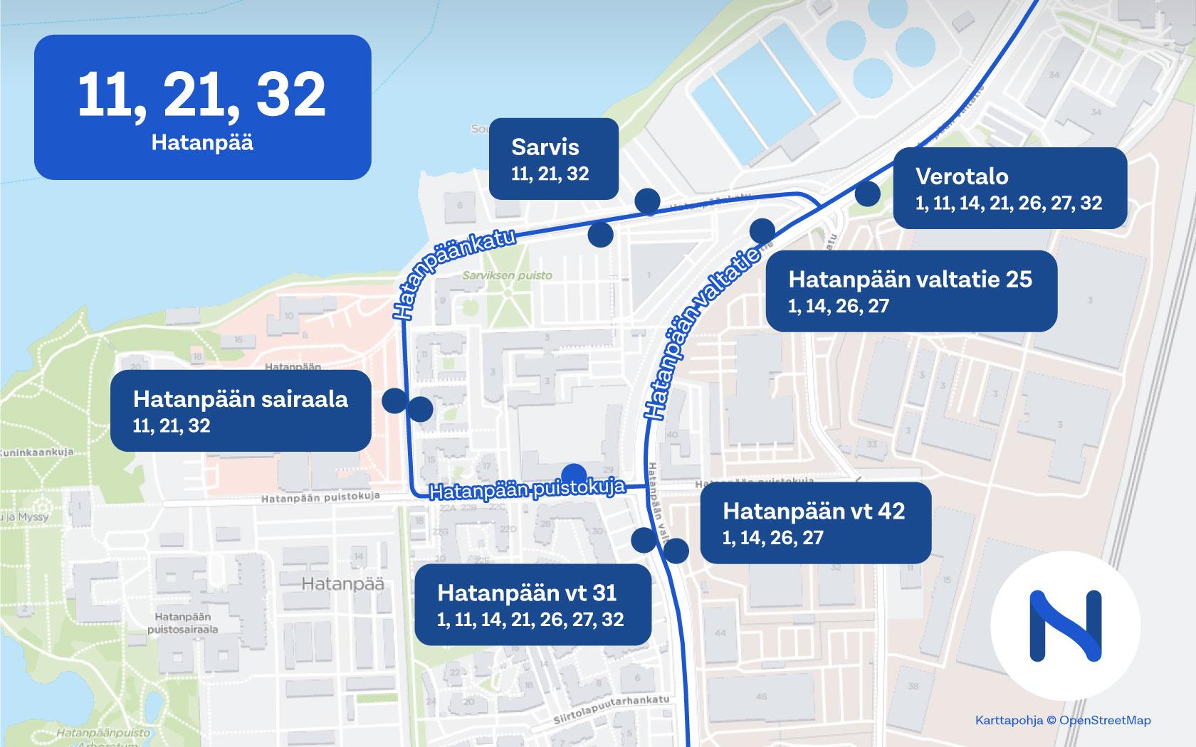 Tampereen Joukkoliikenne Hinnasto