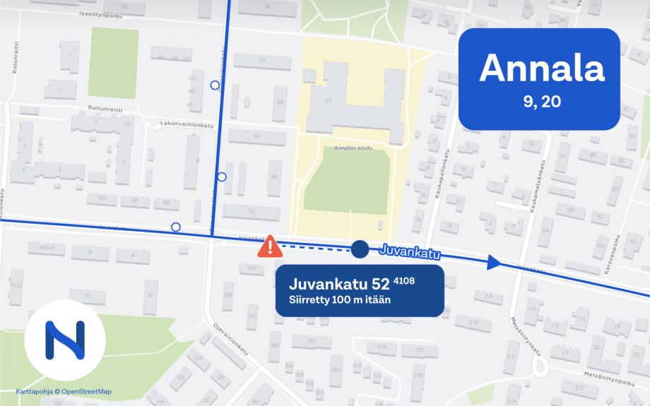 Tampereen Joukkoliikenne Asiakaspalvelu